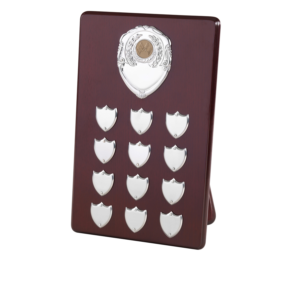 13 Inch Perpetual Plaque 12 Entry & Title Plaque Jaunlet Plaque