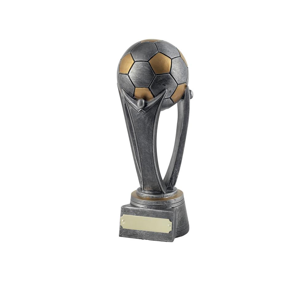 9 Inch Sateen Finish Football Gilt Award