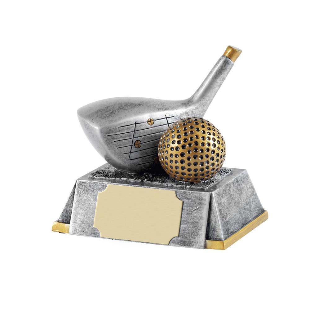 5 Inch Longest Drive With Golf Ball Golf Fairways Award