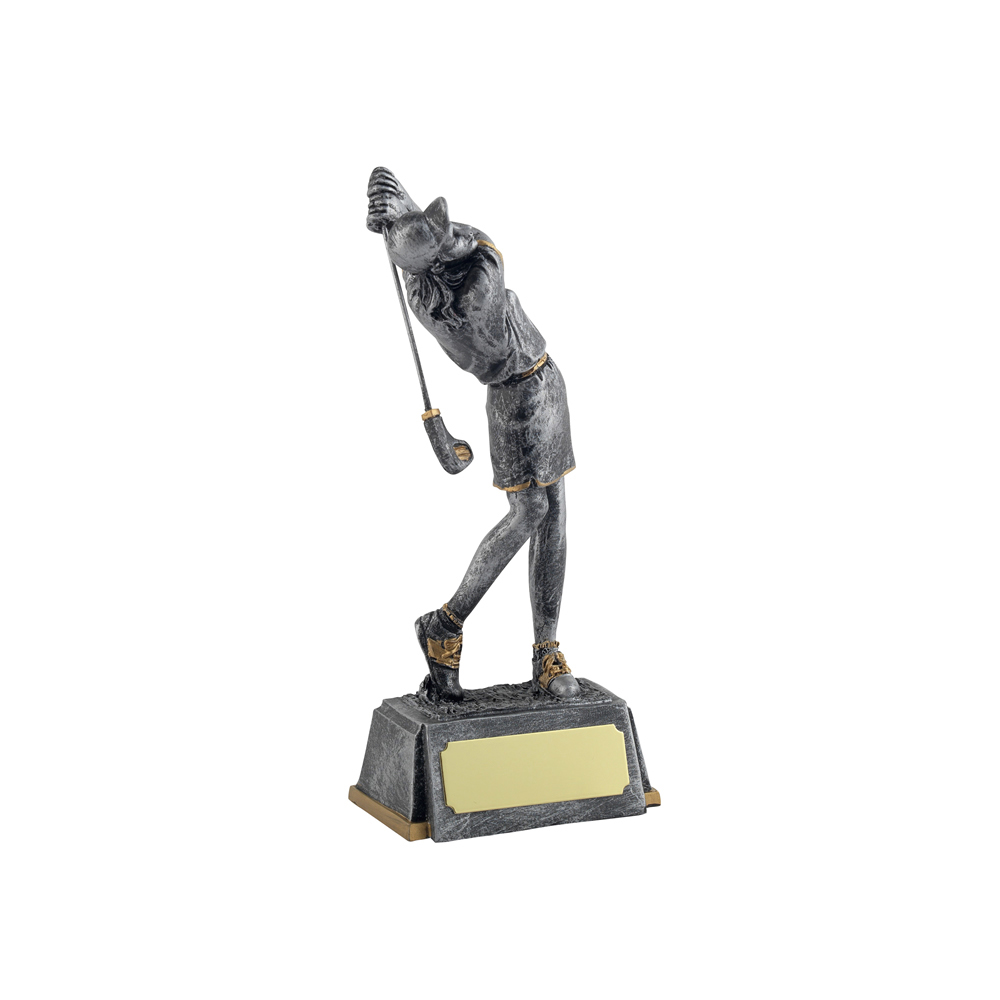 6 Inch Female Golf Fairways Figure Award
