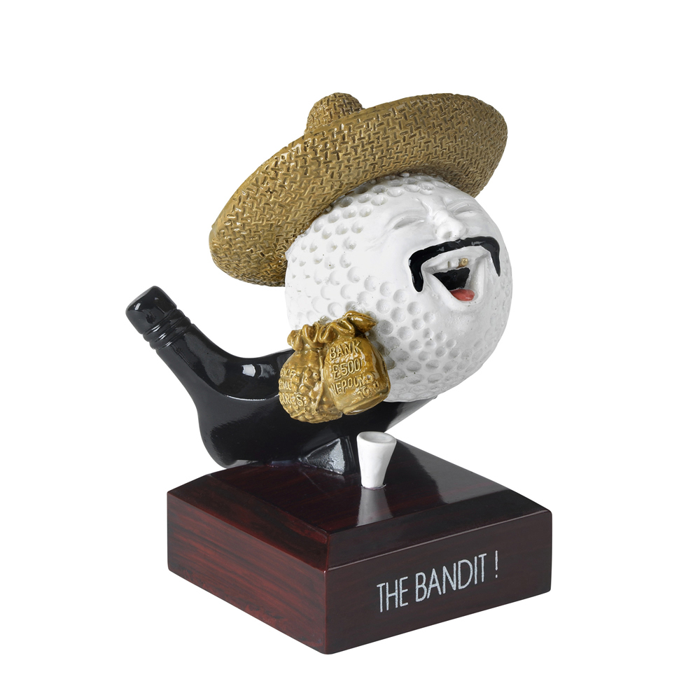 5 Inch The Bandit Golf Goodwill Award