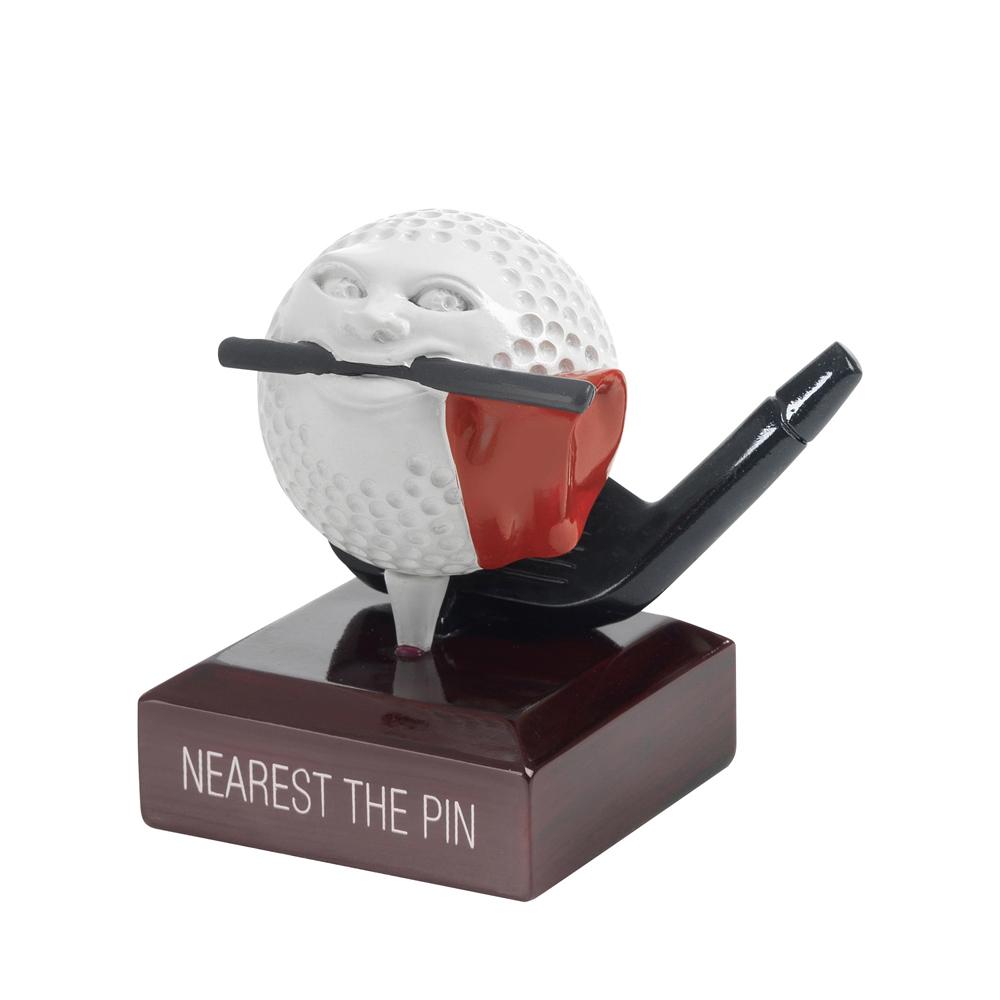 4 Inch Nearest The Pin Golf Ball Head Golf Goodwill Award