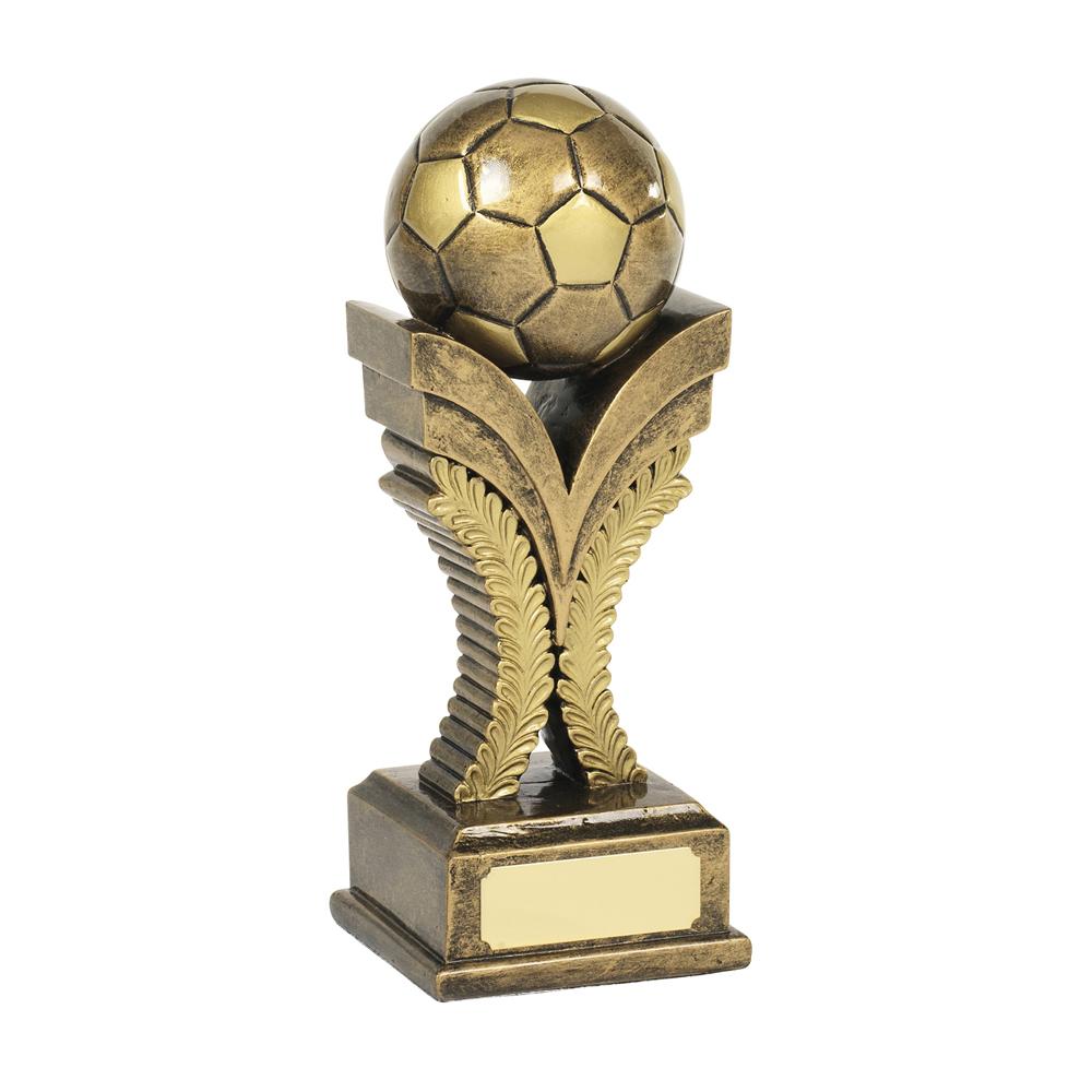 7 Inch Laurel Wreath Football Resin Award