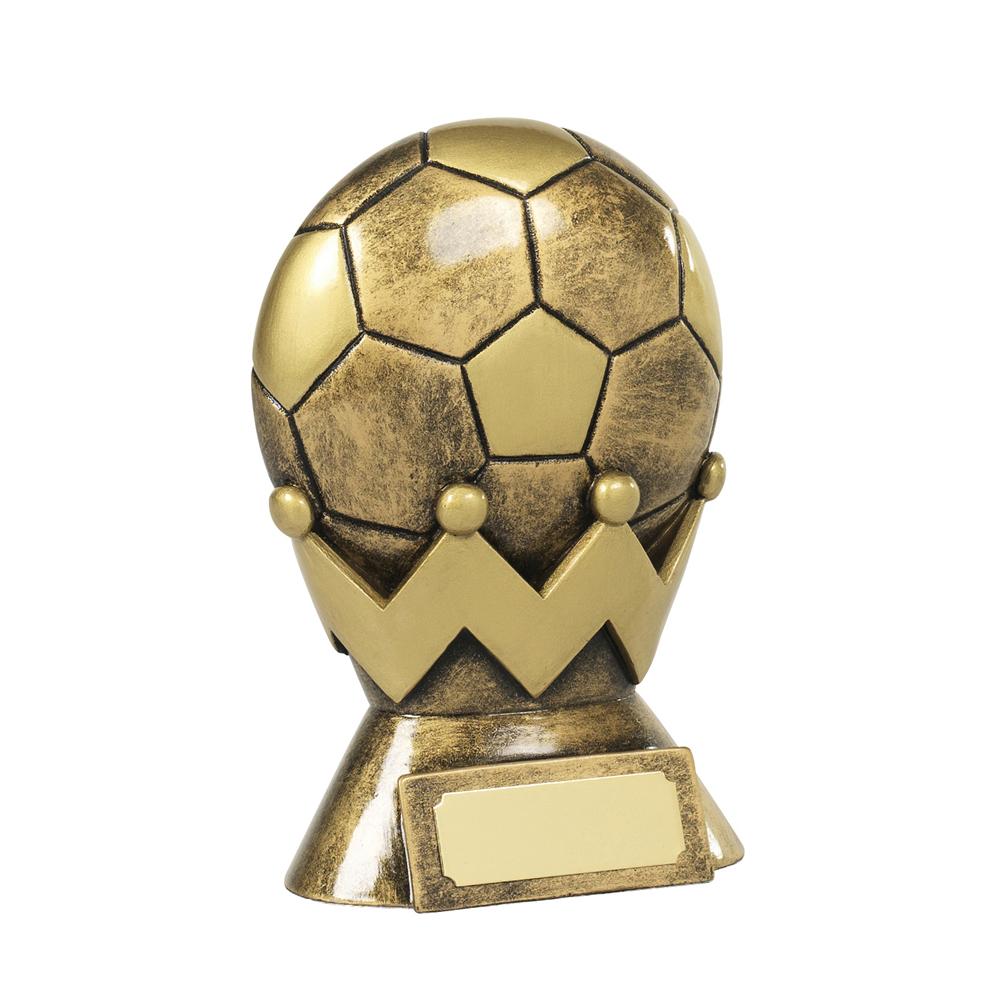 5 Inch King Of Football Resin Award