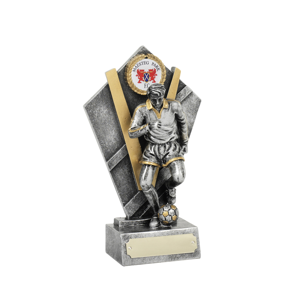 7 Inch Player Football Resin Award