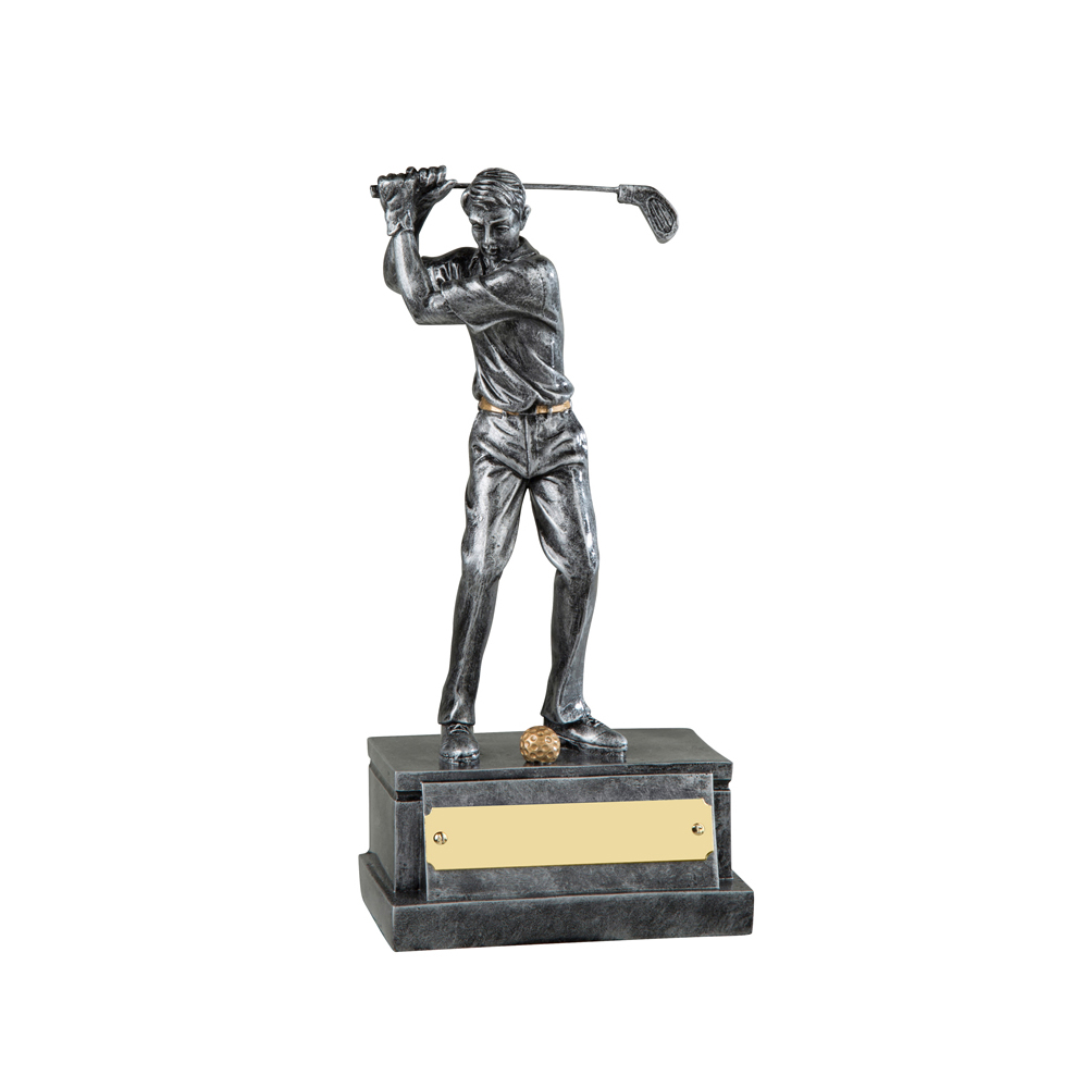8 Inch Finish Golfer Golf Resin Figure Award
