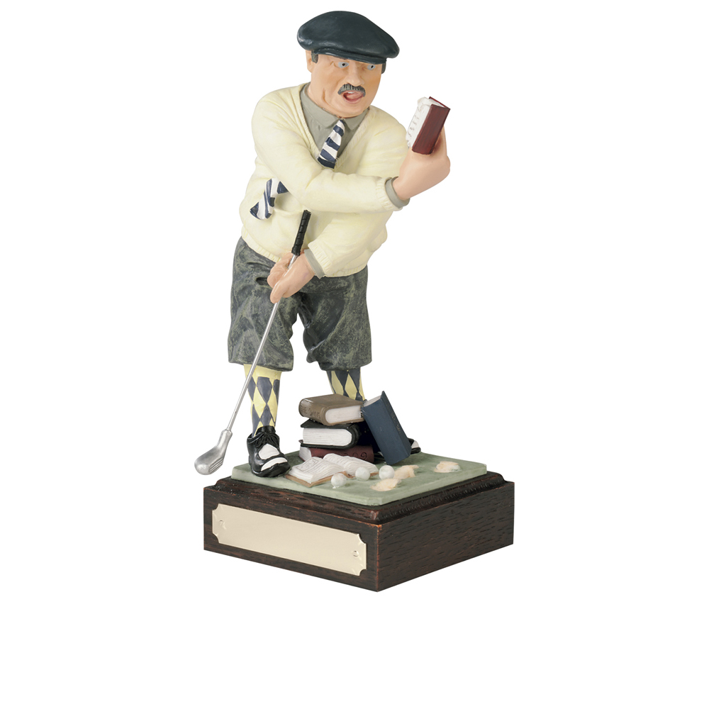 9 Inch Humorous Golf Made Easy Golf Heroes Award