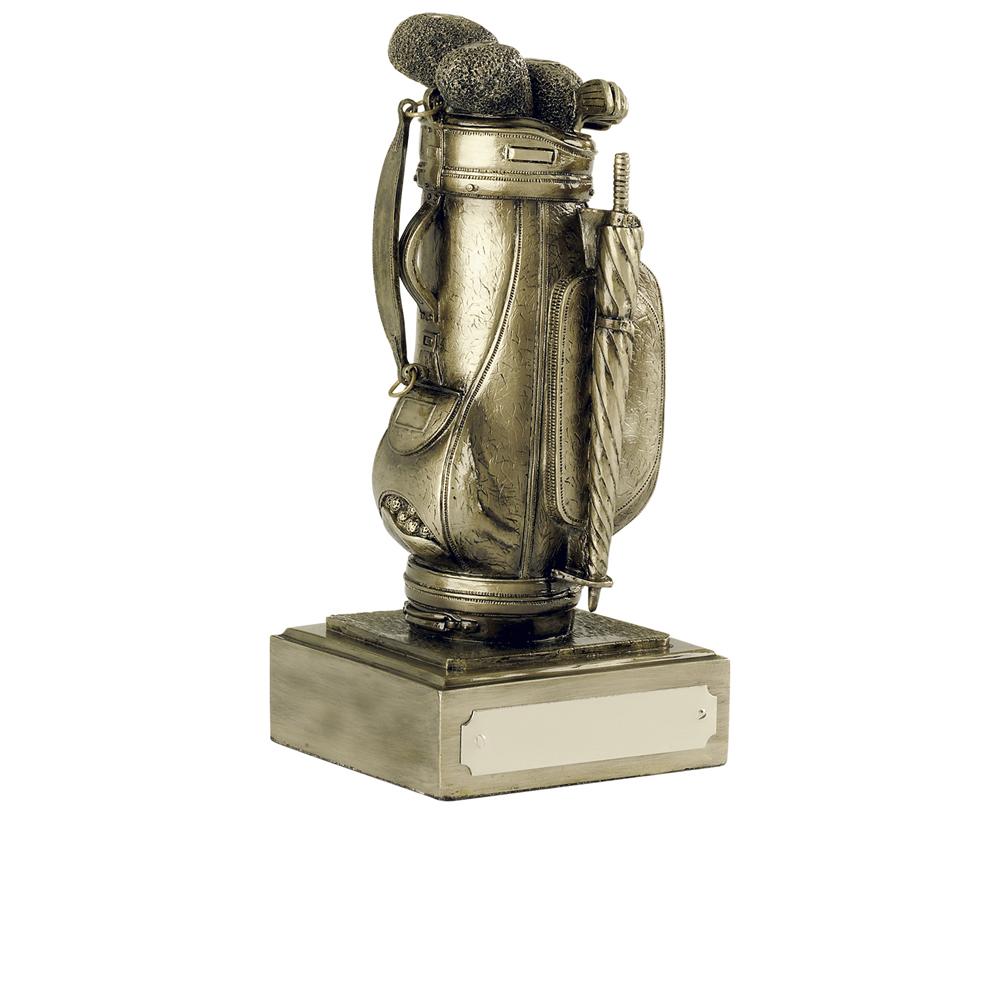 5 Inch Golf Bag Presentation Golf Antiquity Award