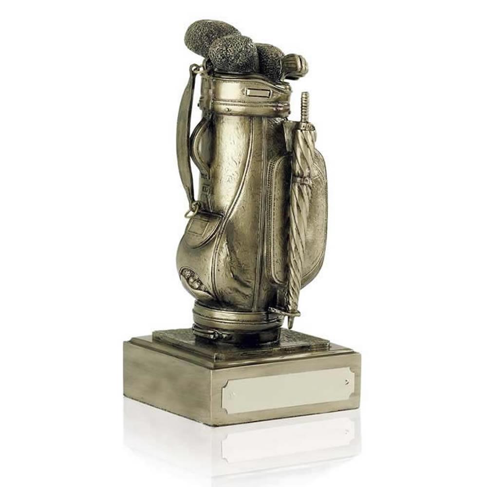 6 Inch Golf Bag Presentation Golf Antiquity Award