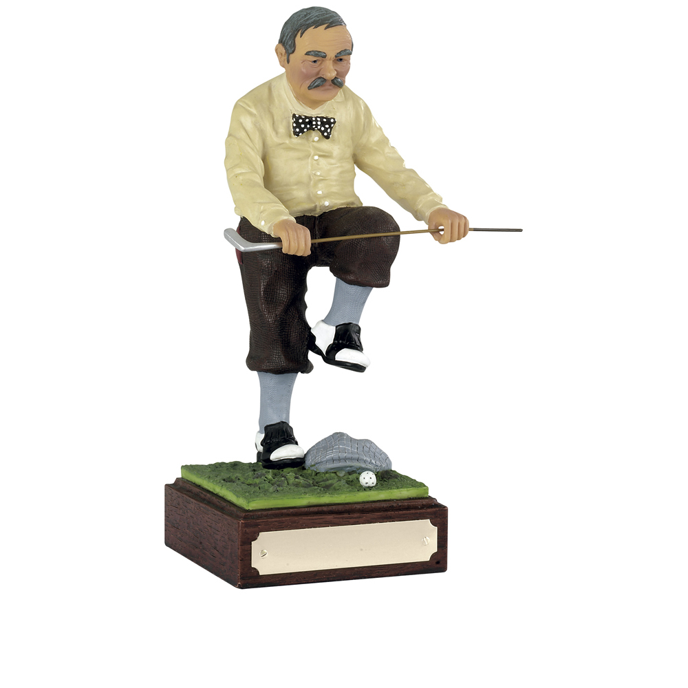 9 Inch Humorous Sell The Clubs Golf Heroes Award
