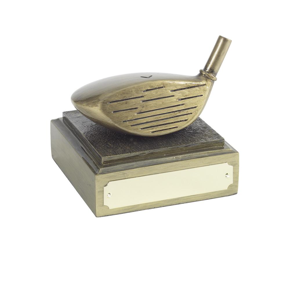 3 Inch Longest Drive Club Golf Antiquity Award