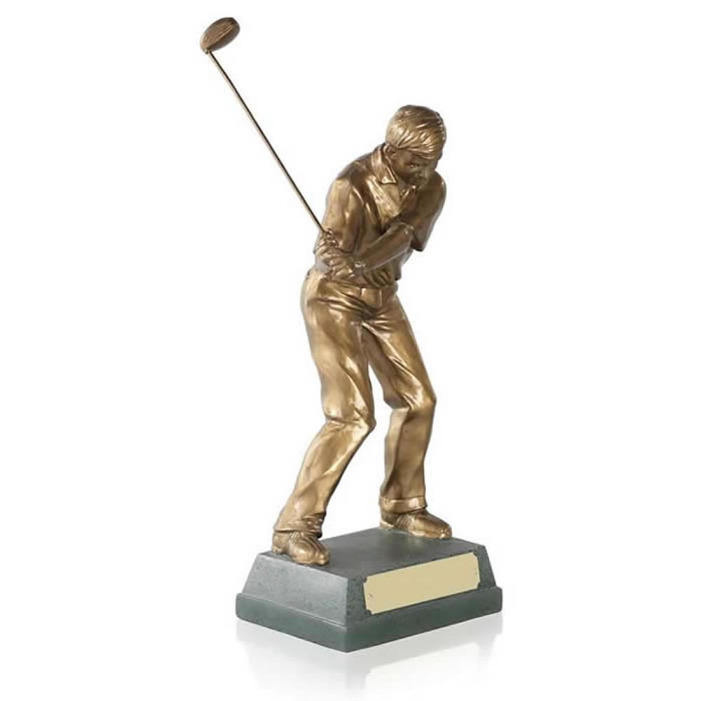 7 Inch Mid Swing Golf Signature Figure Award