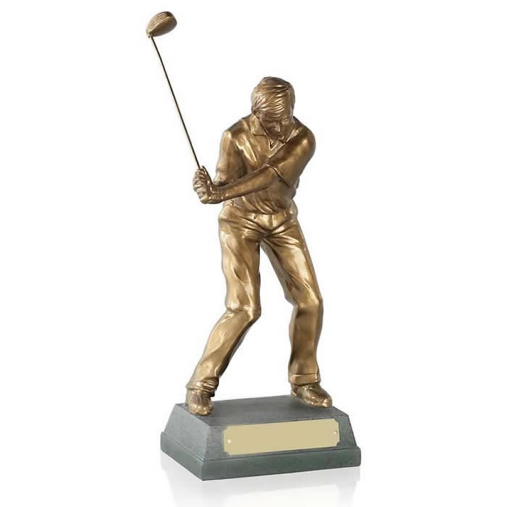 9 Inch Mid Swing Golf Signature Figure Award