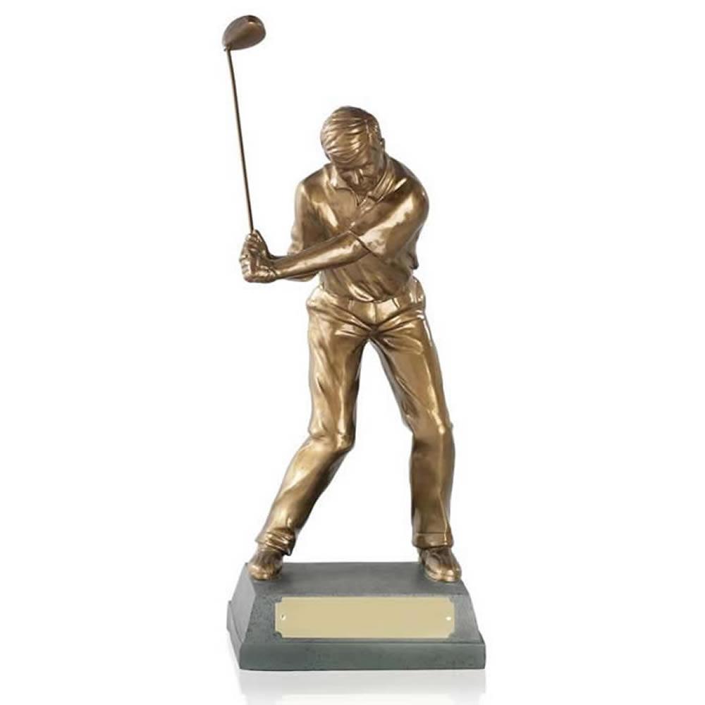 11 Inch Mid Swing Golf Signature Figure Award
