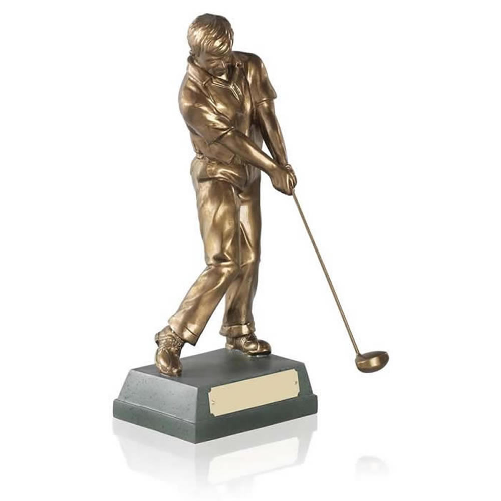 6 Inch Through Swing Golf Signature Figure Award
