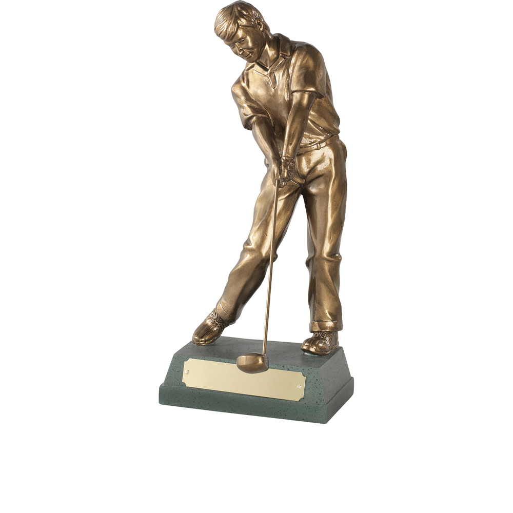 11 Inch Through Swing Golf Signature Figure Award