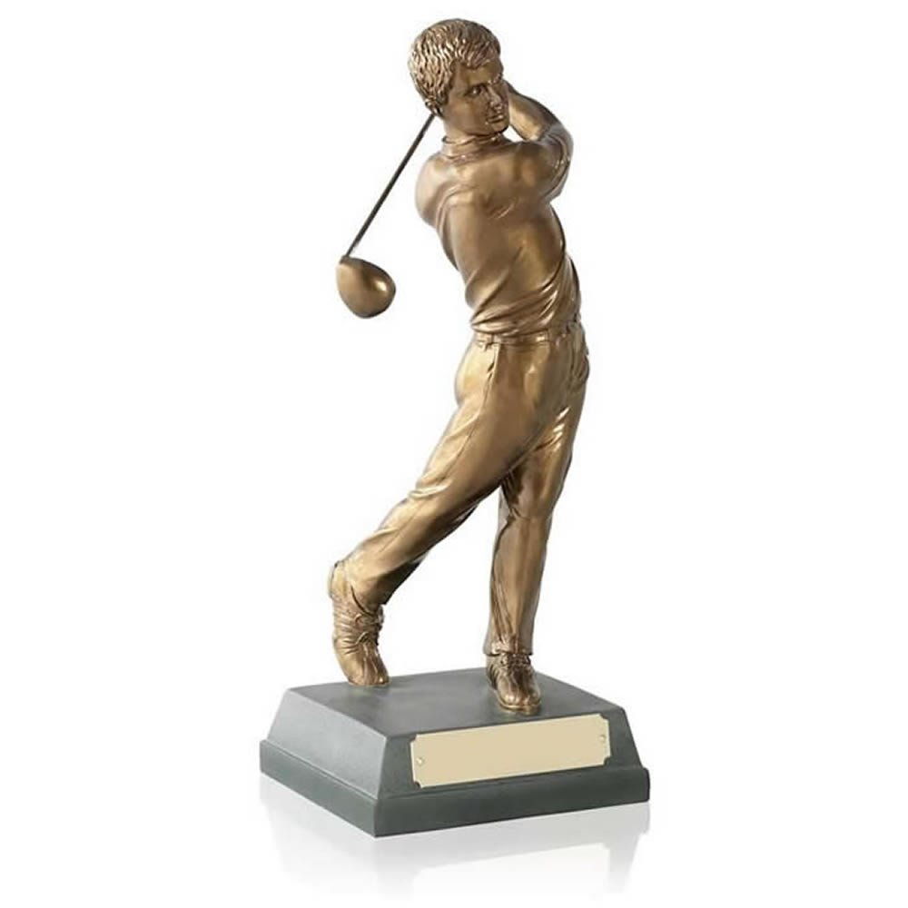 6 Inch Completed Swing Golf Signature Figure Award