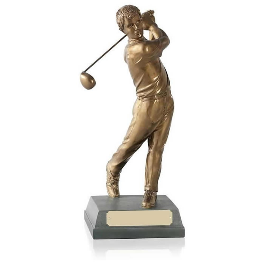 8 Inch Completed Swing Golf Signature Figure Award