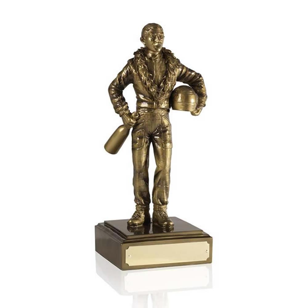 8 Inch Racing Champ Motor Racing Pursuit Figure Award