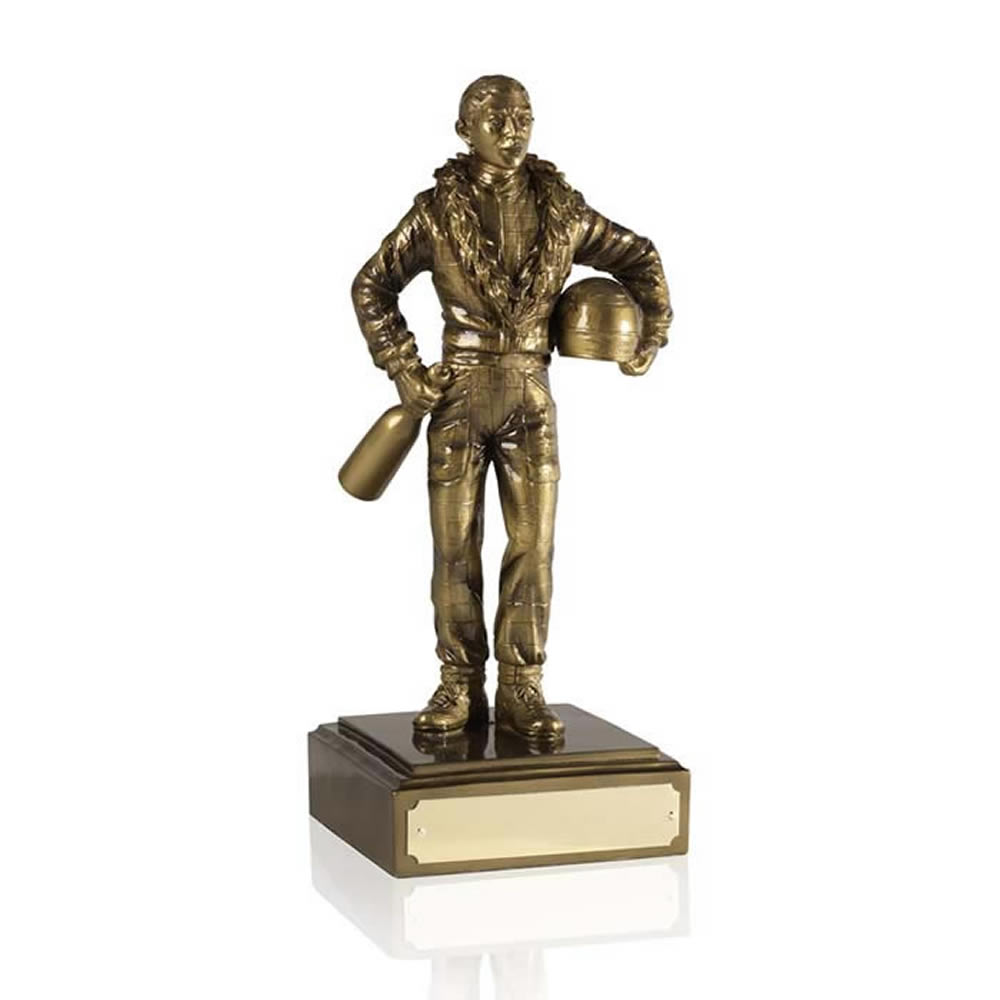 10 Inch Racing Champ Motor Racing Pursuit Figure Award