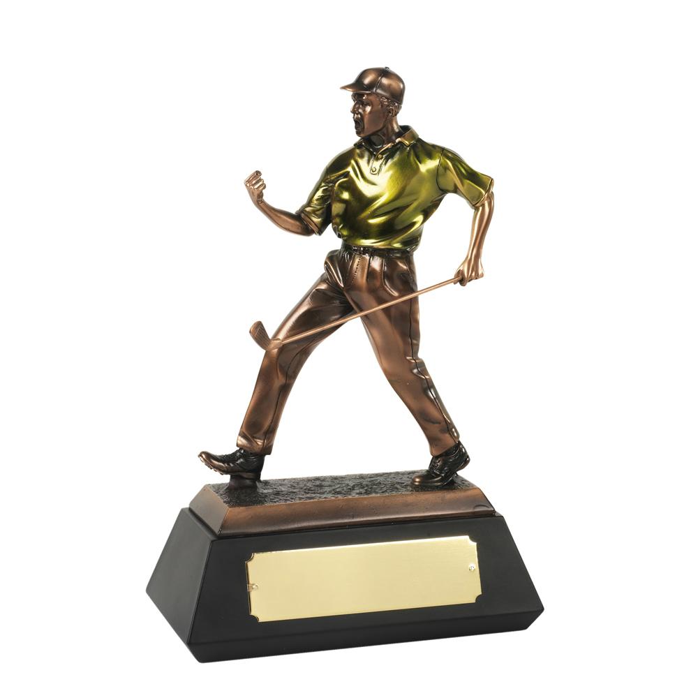 10 Inch Match Winner Golf Resin Figure Award