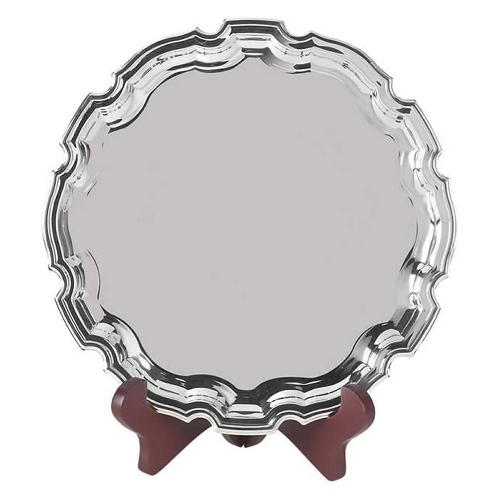 10 Inch Round Jaunlet Chippendale Tray