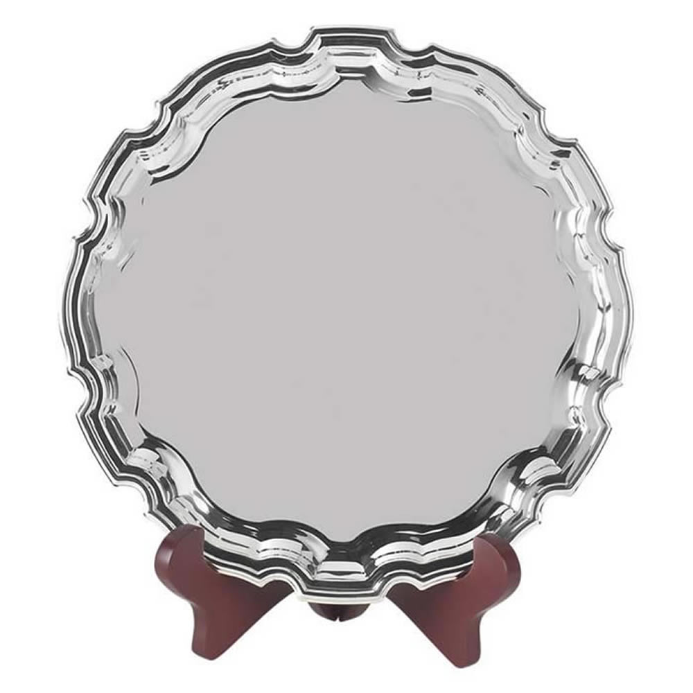 12 Inch Round Jaunlet Chippendale Tray