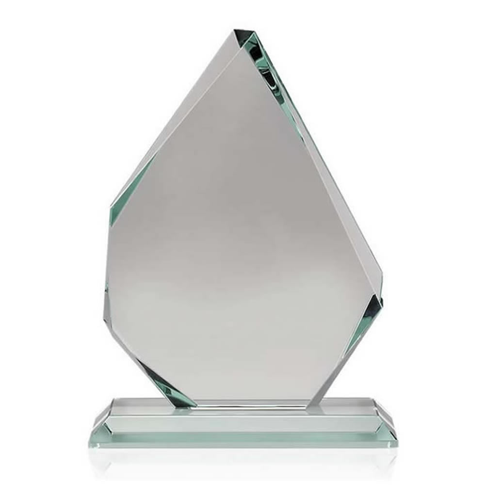 5 Inch Asymmetrical Optical Crystal Award
