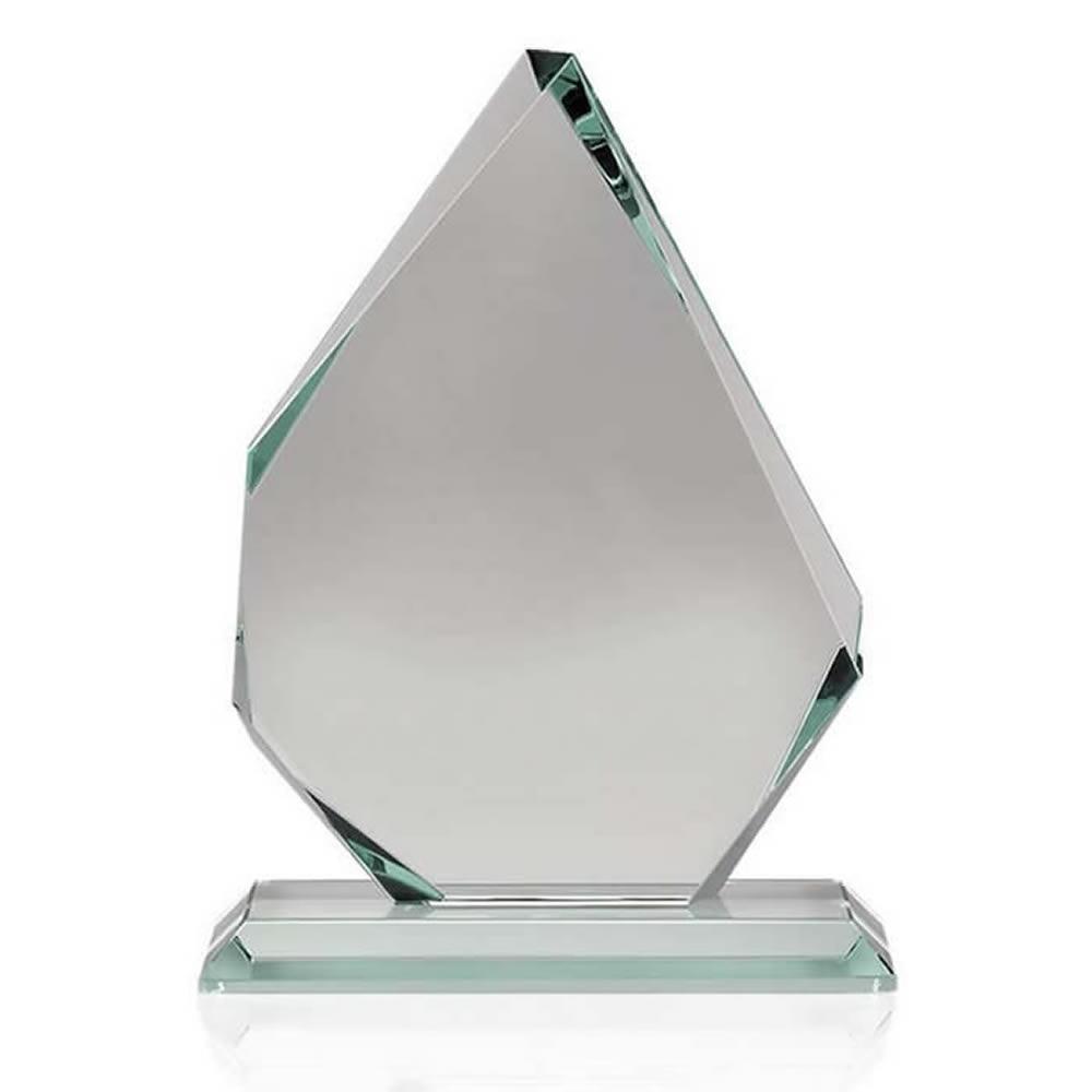 7 Inch Asymmetrical Optical Crystal Award