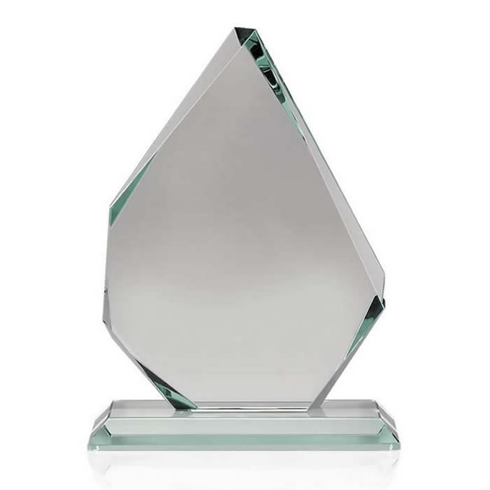 8 Inch Asymmetrical Optical Crystal Award