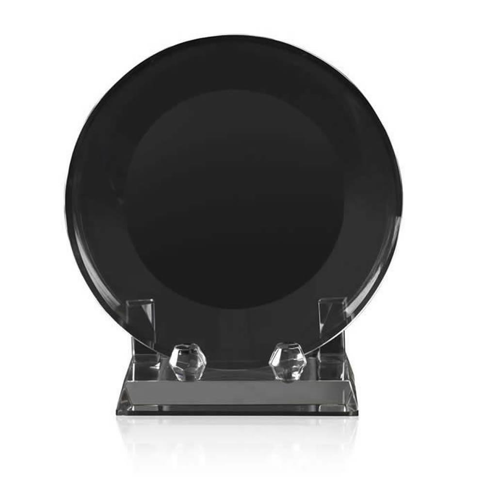 7 Inch Classic Circular Optical Crystal Award