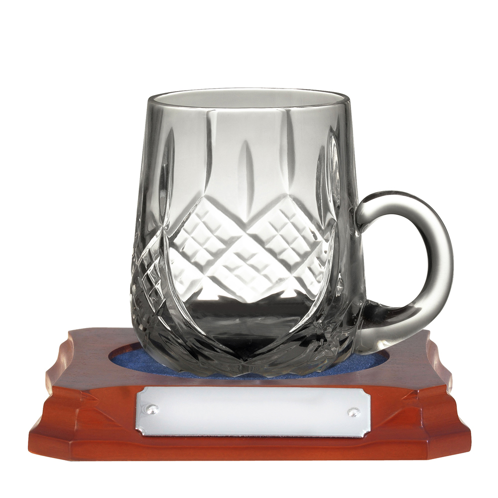 3 Inch Quarter Pint Hand Cut Crystal Mug