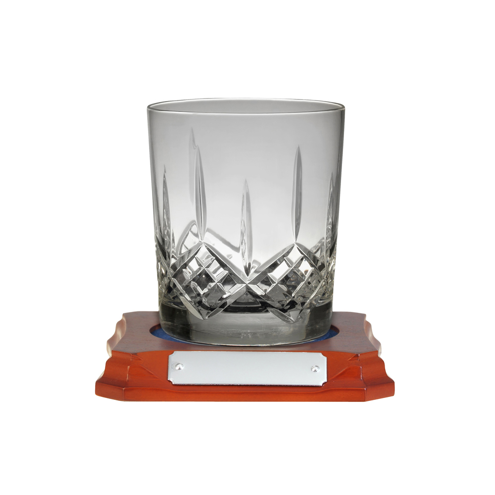 4 Inch Hand Cut Hand Cut Crystal Whisky Glass