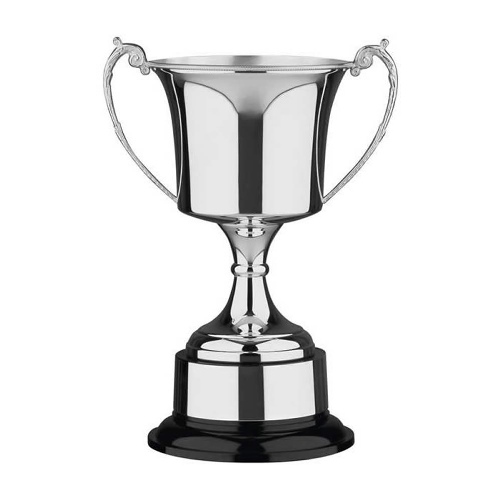 11 Inch Cask Bowl & Black Base Studio Trophy Cup