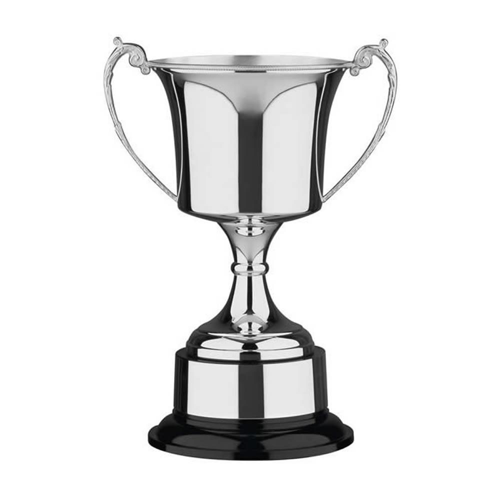 14 Inch Cask Bowl & Black Base Studio Trophy Cup