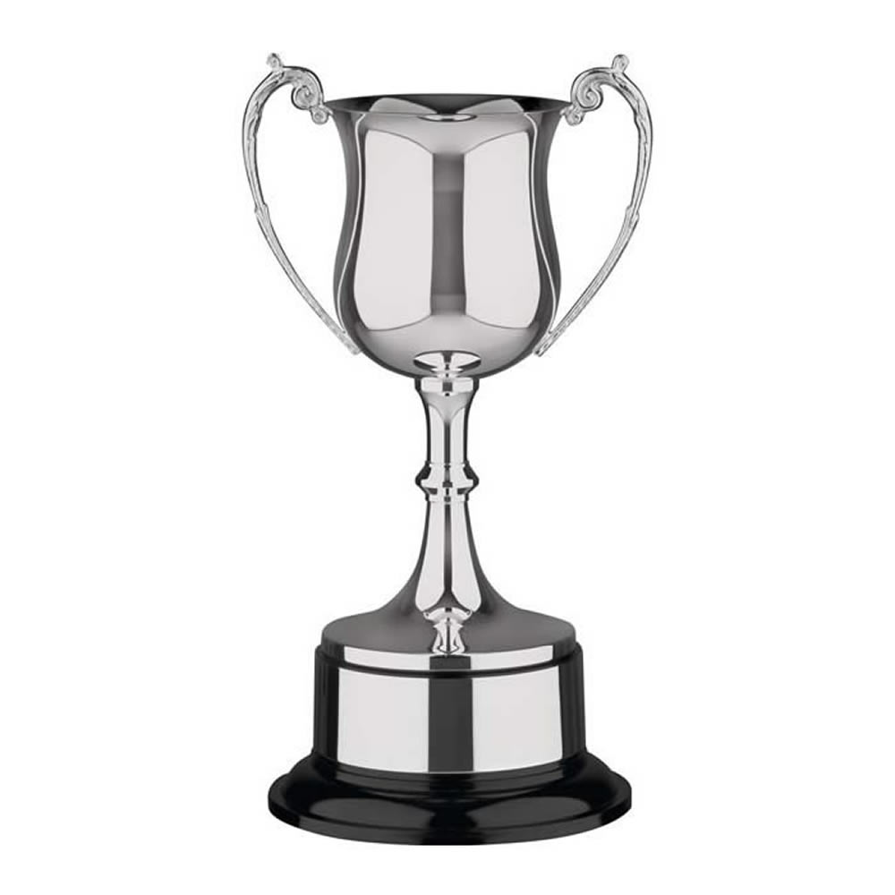 17 Inch Georgian Bowl & Black Base Hanover Trophy Cup