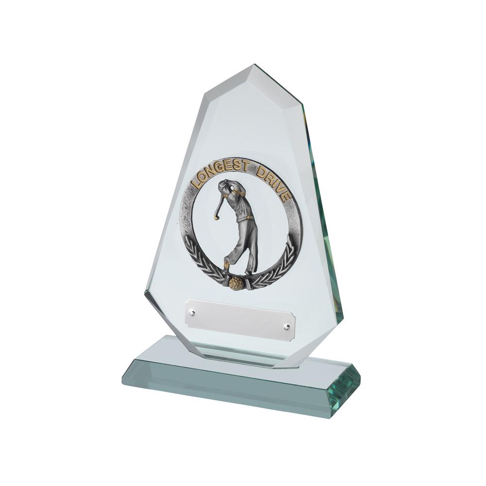 7 Inch Longest Drive With Laurel Wreath Golf Bridgehall Award