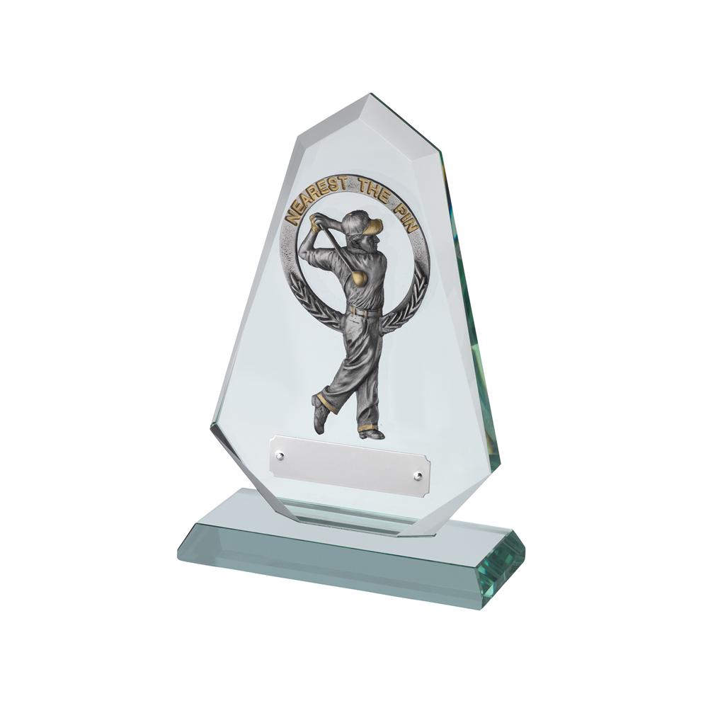 8 Inch Large Nearest The Pin Golf Bridgehall Award