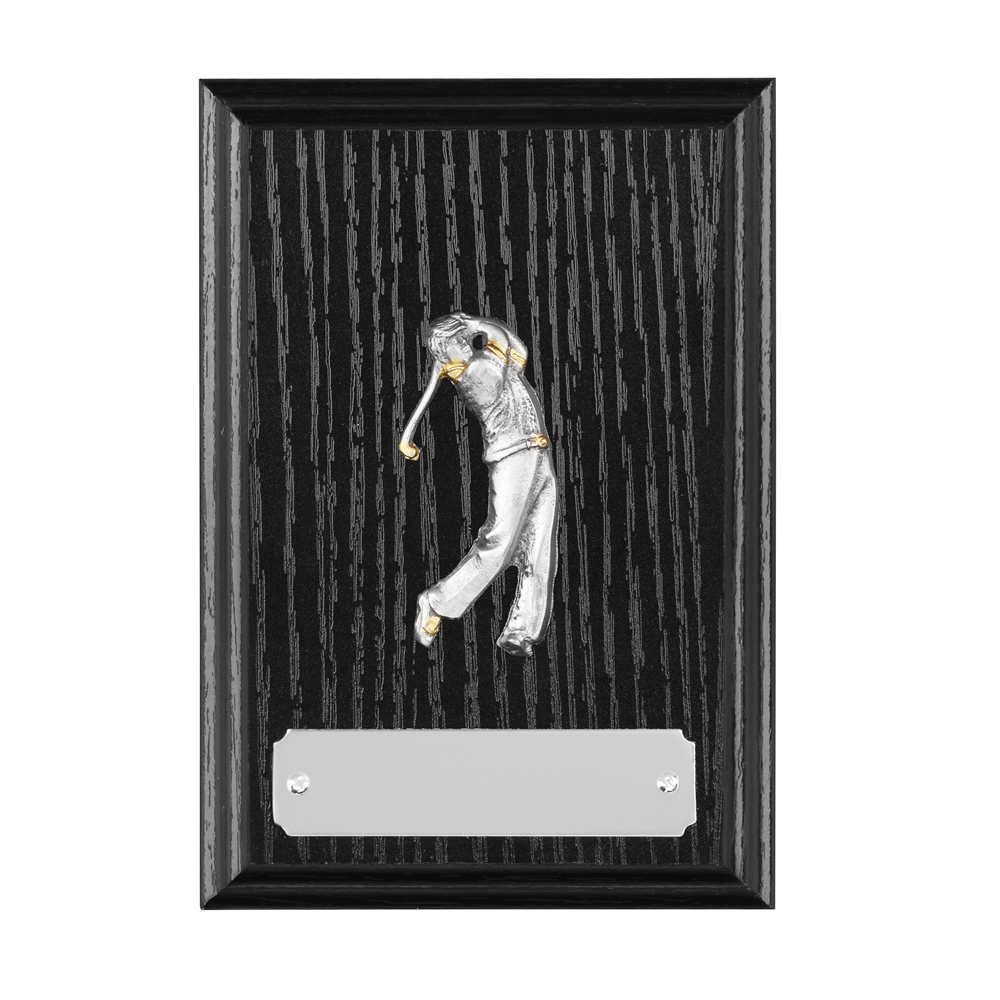 5 Inch Small Backswing Golf Bridgehall Plaque