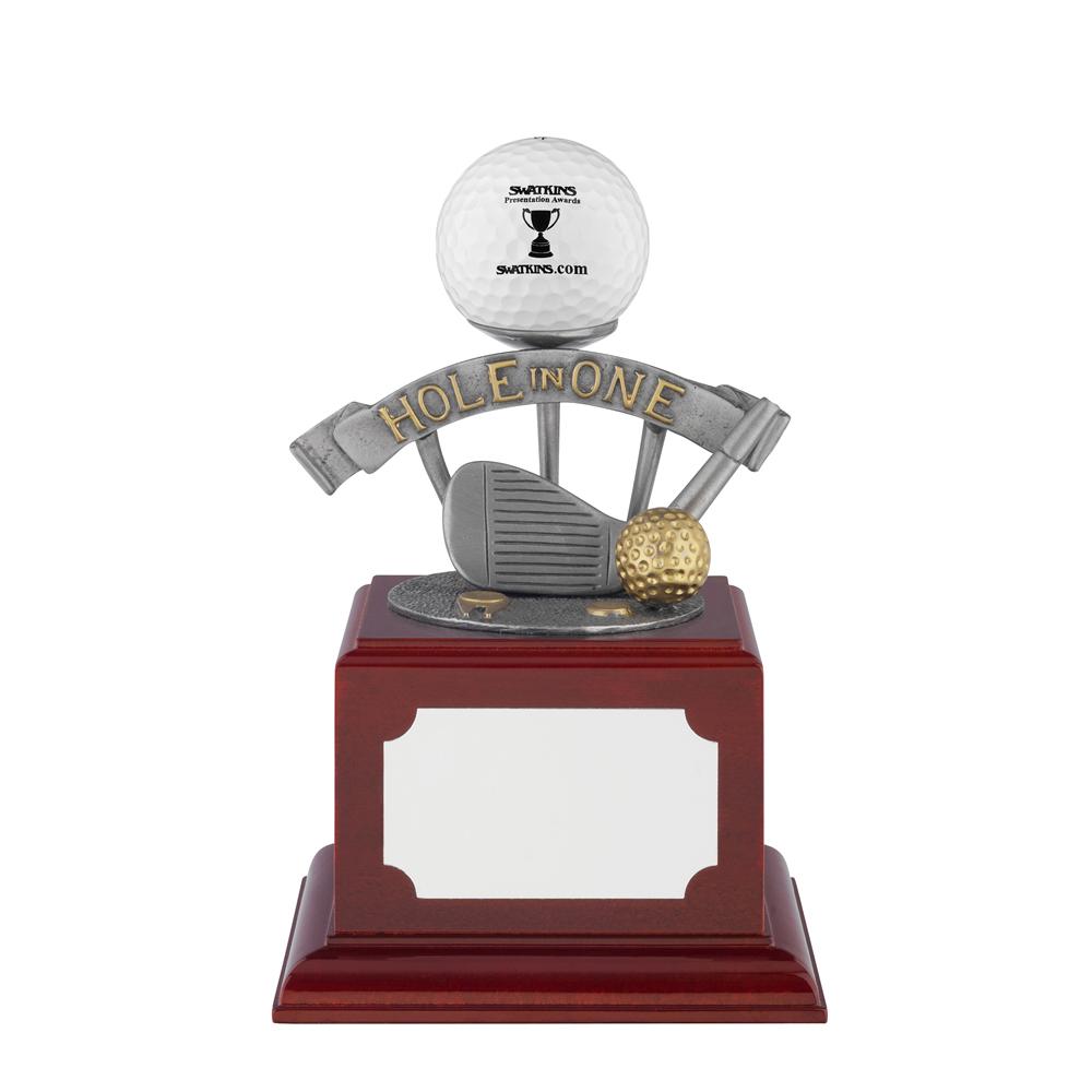 5 Inch Hole In One Golf Ball Holder Golf Bridgehall Award