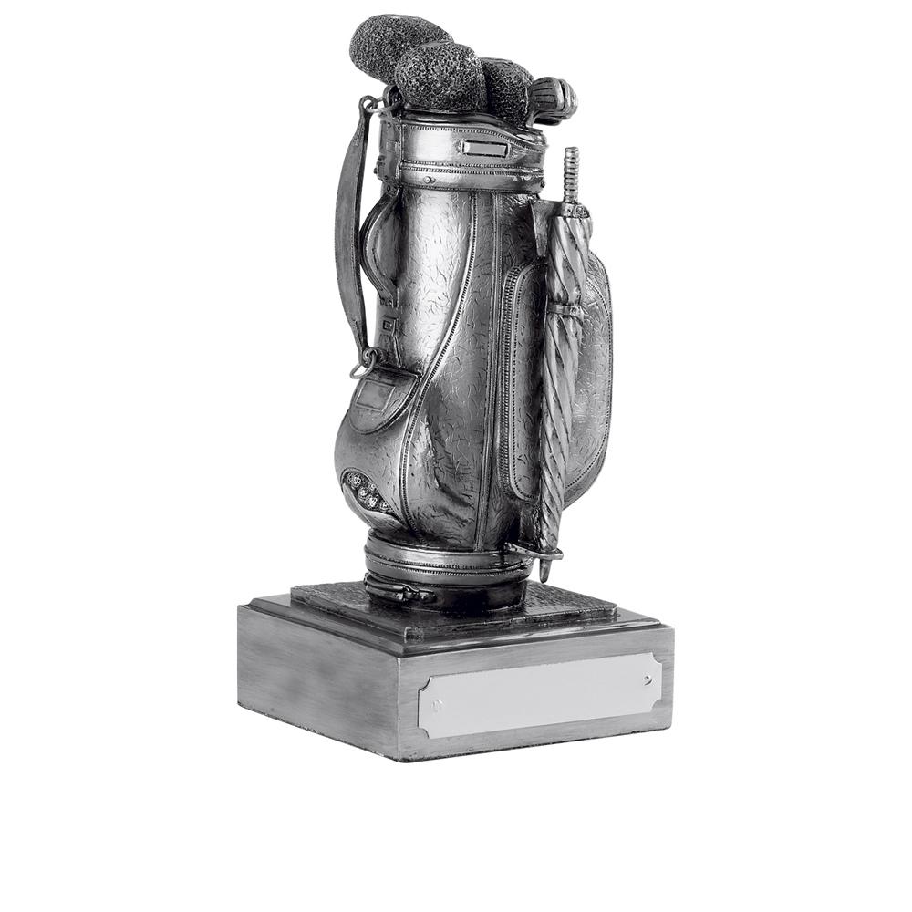5 Inch Bag Golf Antiquity Award
