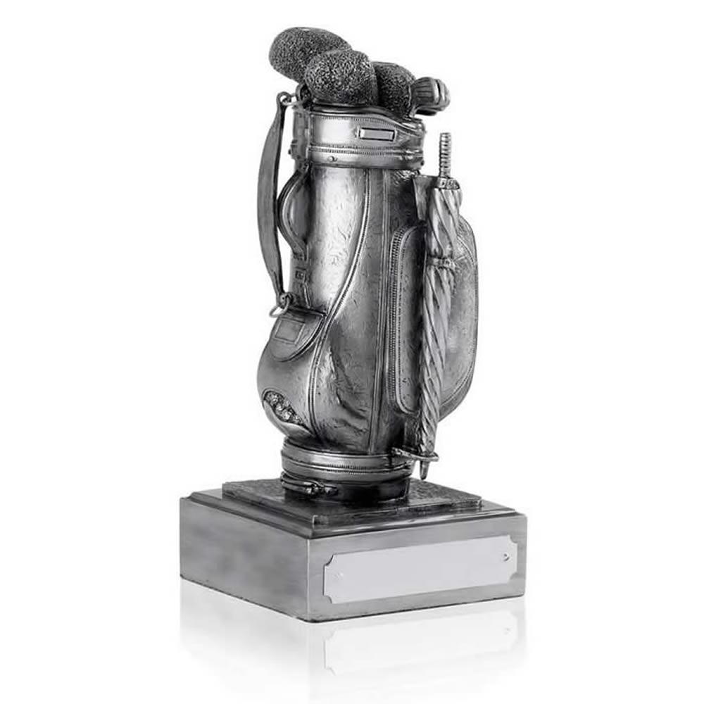 8 Inch Bag Golf Antiquity Award