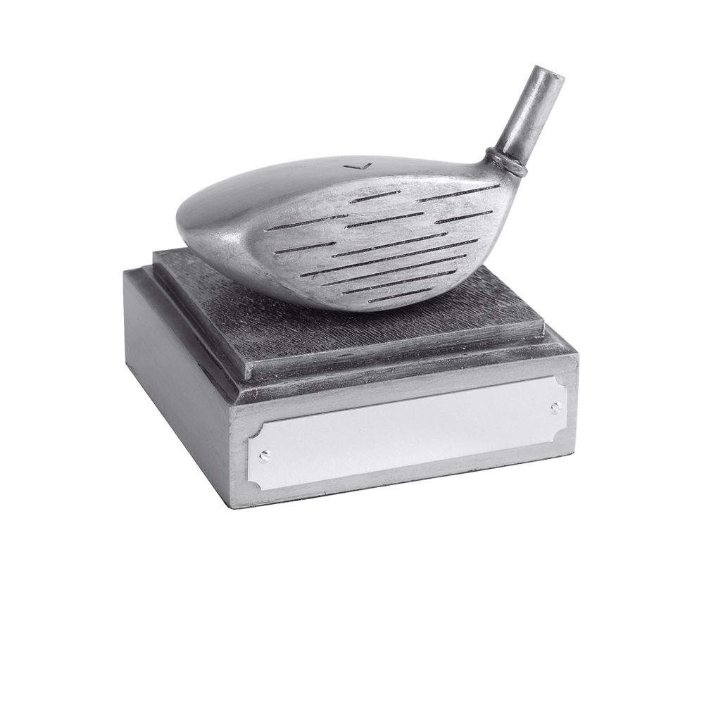 3 Inch Longest Drive Golf Antiquity Award