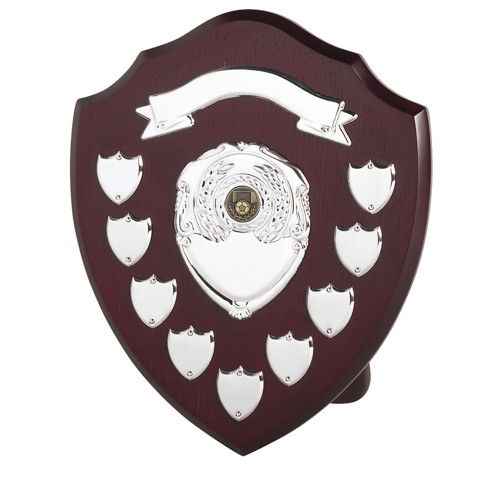 12 Inch Traditional 9 Entries & Banner Jaunlet Shield
