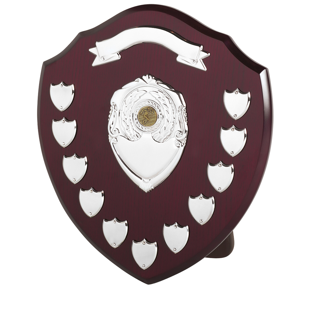 14 Inch Traditional 11 Entries & Banner Jaunlet Shield
