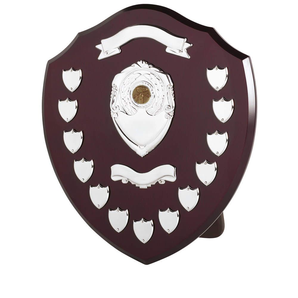 16 Inch Traditional 13 Entries & Banner Jaunlet Shield