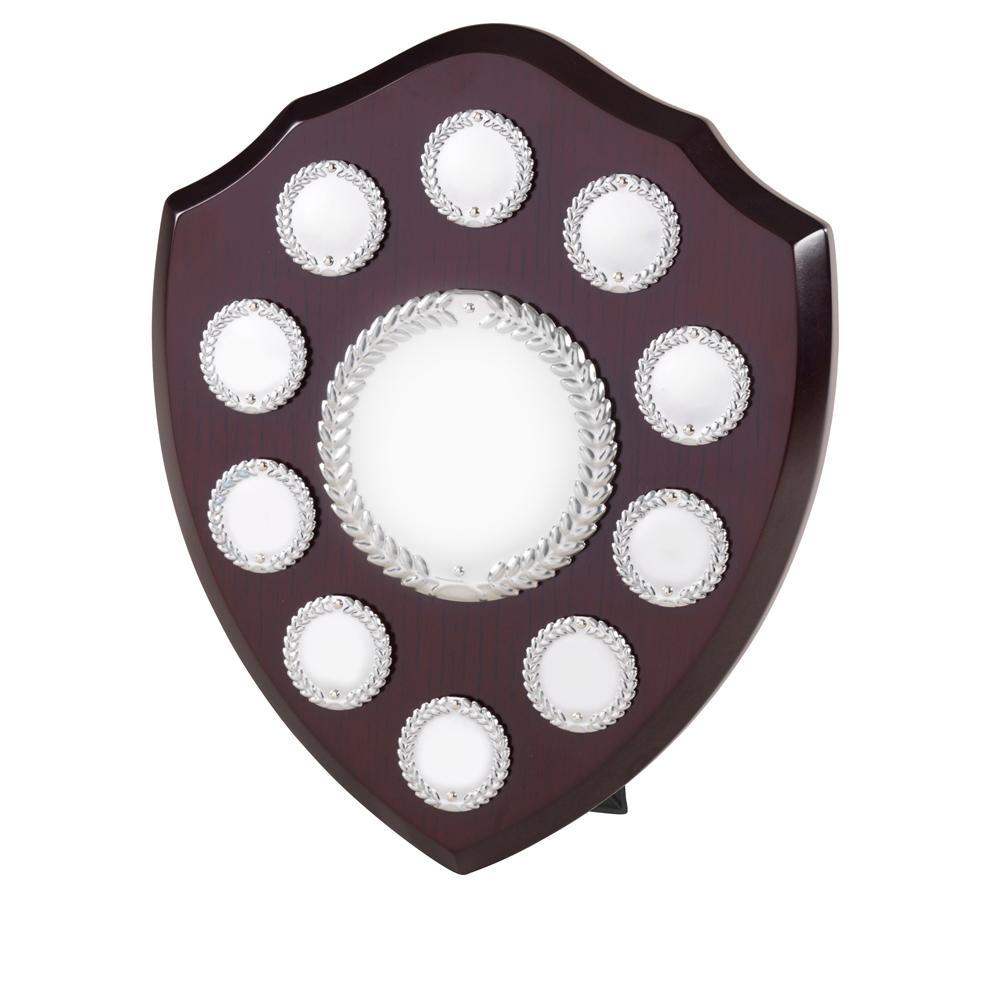 10 Inch Laurel Wreath 10 Entry & Title Centre Jaunlet Shield