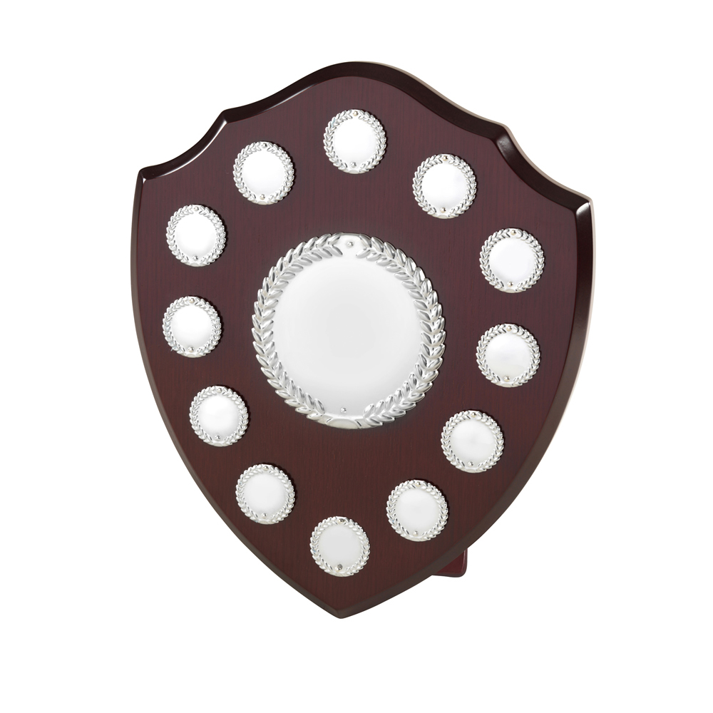12 Inch Laurel Wreath 12 Entry & Title Centre Jaunlet Shield