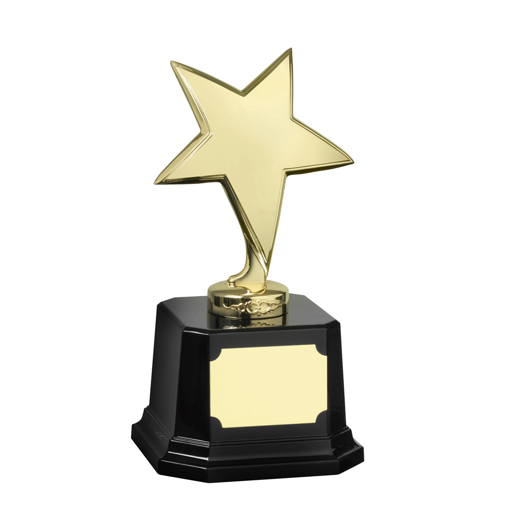 7 Inch Bright Finish Gold Bestway Star Award