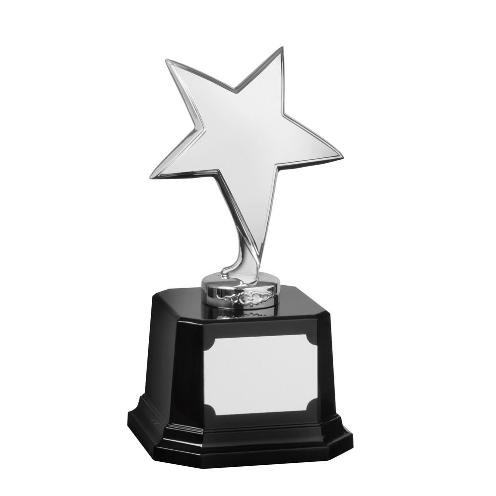 7 Inch Bright Finish Silver Bestway Star Award